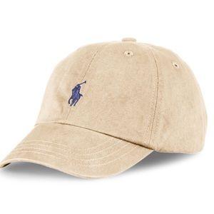 POLO Khaki Baseball Hat Cap Ralph Lauren Toddler
